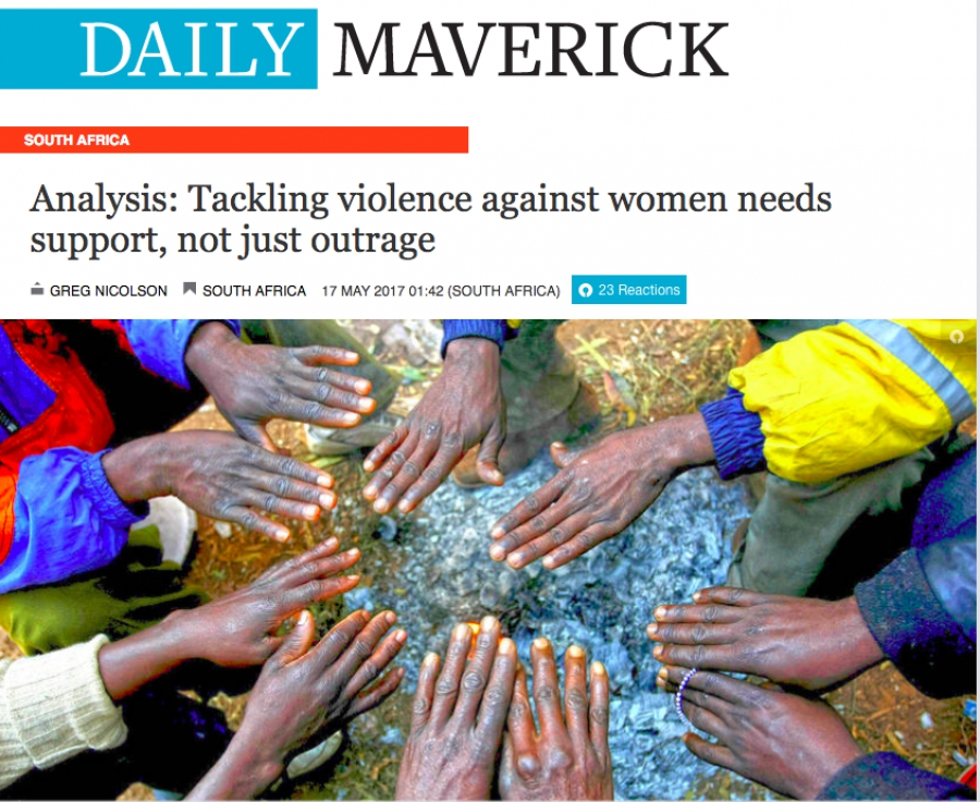 Tackling violence against women needs support, not just outrage