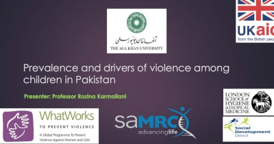 Prevalence and drivers of violence among children in Pakistan