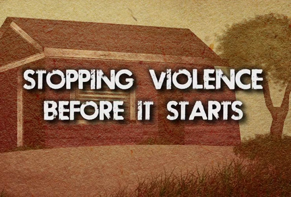 Stopping violence before it starts