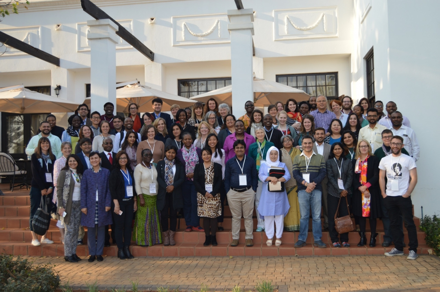 The What Works global team and grantees gather for the Capacity Development Workshop, and Annual Scientific Meeting in Pretoria, South Africa