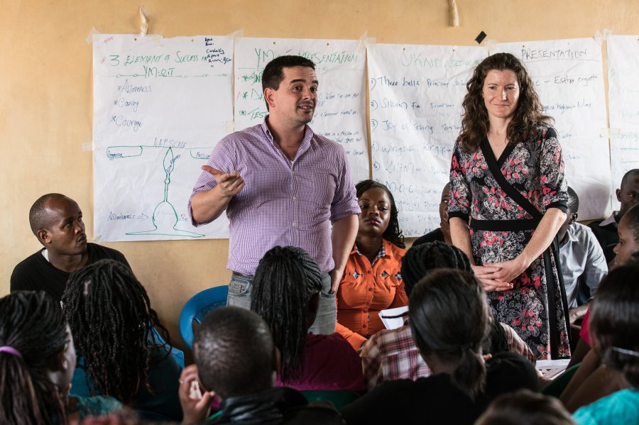 Rosenkranz Prize winner, Mike Baiocchi brings statistics to rape prevention in Kenya.