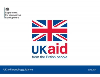 UK aid Branding Guidelines