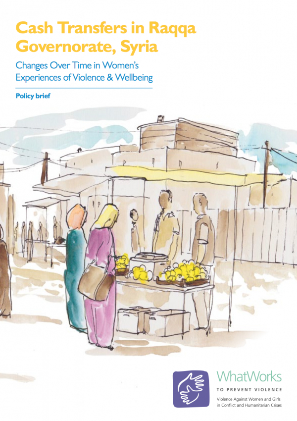 Cash Transfers in Raqqa Governorate, Syria - Policy briefing