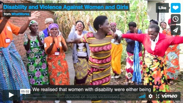 Disability and Violence against Women and Girls