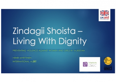 Zindagii Shoista – Living With Dignity