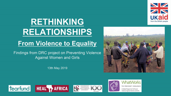 Rethinking Relationships - From violence to equality