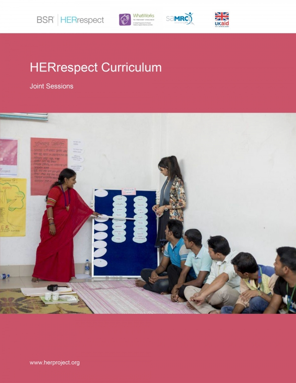HERrespect Curriculum - Joint Sessions