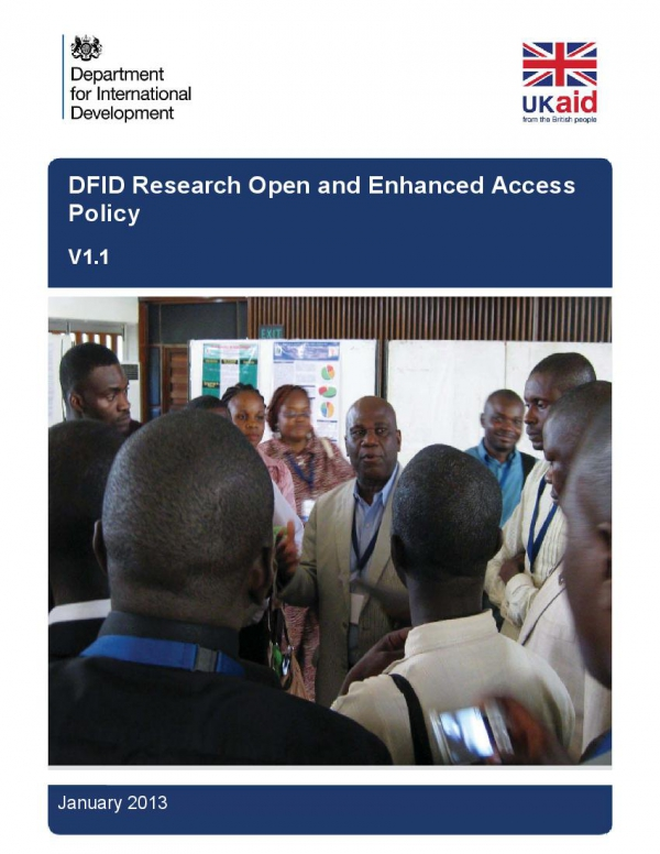 DFID Research Open and Enhanced Access Policy