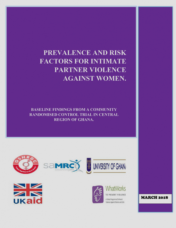 Prevalence and risk factors for intimate partner violence against women.