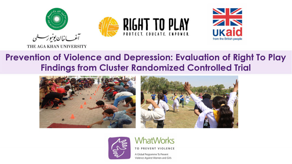 Prevention of Violence and Depression: Evaluation of Right To Play Findings from Cluster Randomized Controlled Trial