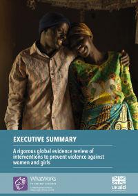 A rigorous global evidence review of interventions to prevent - EXECUTIVE SUMMARY