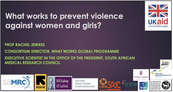 What works to prevent violence against women and girls?